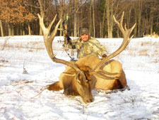 Pieter's Elk taken in Michigan with Bob