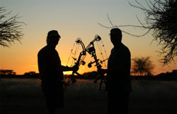 Hunting with Cruiser Safaris in South Africa.