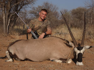 Gemsbok hunter