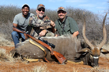 Nyala hunting at Cruiser Safaris